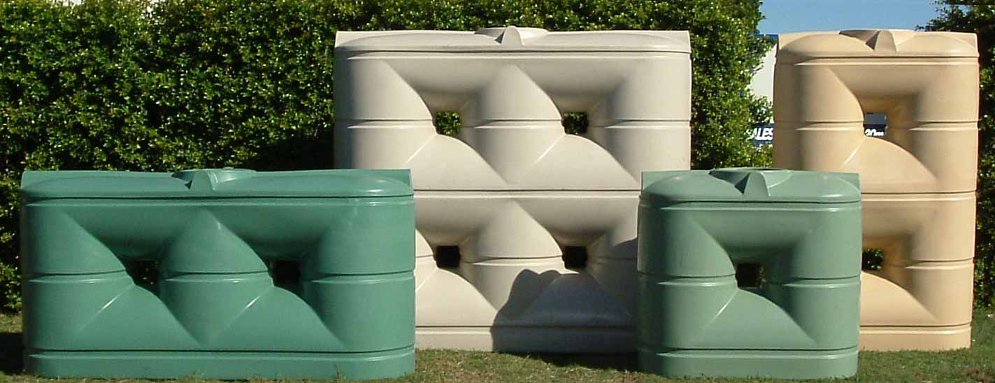 Poly Slimline Rain Water Tanks
