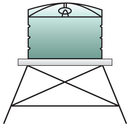 water-tank-stand-installation-diagram